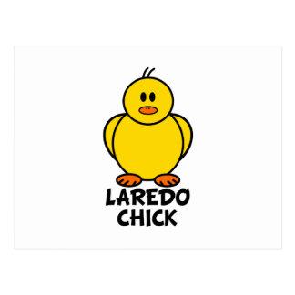 Küken Laredos Texas Postkarte