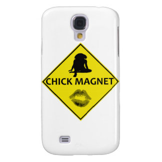 Küken-Magnet-Gelb-Verkehrsschild iPhone Fall Galaxy S4 Hülle