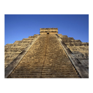 Kukulcan Tempel oder Castillo Schloss) in 2 Postkarte