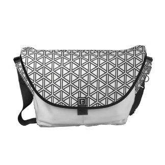 Kumikikkou japanische Muster-Bote-Tasche Kuriertaschen