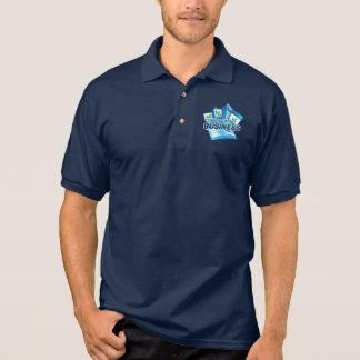 Kümmern von  um Polo-Shirt die Marine der Polo Shirt