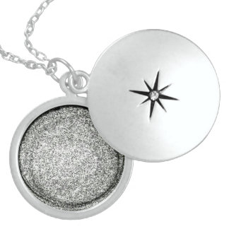 Kümmerte Sie Zuhause Sterling Silberkette