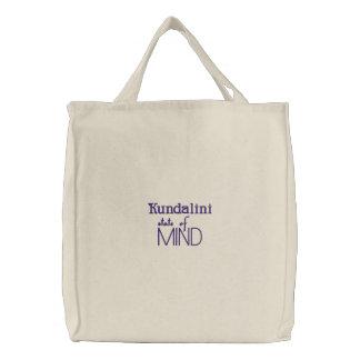 Kundalini Staat des Verstandes Bestickte Einkaufstaschen