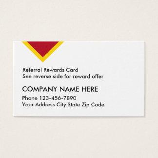 Kunden-Empfehlungs-Belohnungs-Karten Visitenkarten