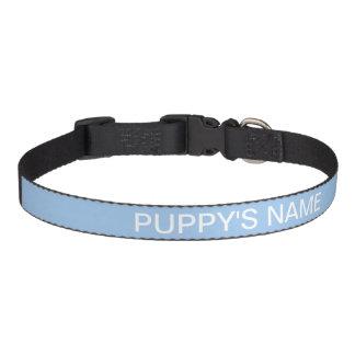 Kundengebundene Baby-blaue Augen-niedliche Hundehalsband