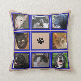 Kundengebundene Foto-Collage 9 - TAN Kissen