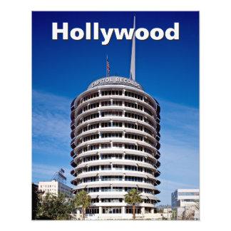 Kundengebundene Hauptstadts-Platten Hollywood Kunst Photo
