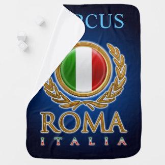 Kundengebundene italienische Flagge Babydecke