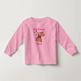 Kundengebundener Junge, Mädchen Monkeys großen Kleinkind T-shirt