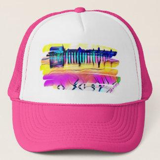 Kundengebundener mehrfarbiger OOB Hut für sie Truckerkappe