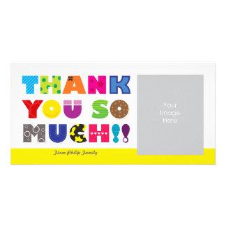 Kundengerecht danke foto grußkarte