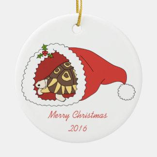 Kundengerechte Angulate Schildkröten-Verzierung Rundes Keramik Ornament
