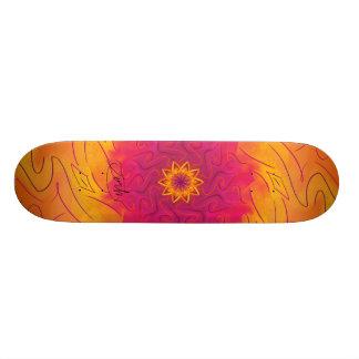 Kundengerechte Gartennelke (psychedelischer 20,1 Cm Skateboard Deck