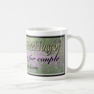 Kundengerechte Gastgeschenk Hochzeit Kaffeetasse