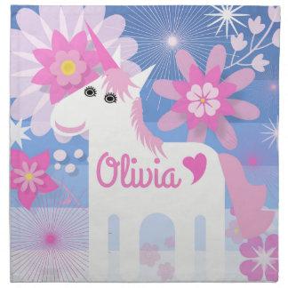 Kundengerechte hübsche rosa serviette