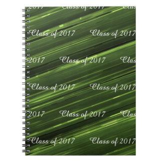 Kundengerechte Klasse des Metalls des Smaragdgrüns Spiral Notizblock