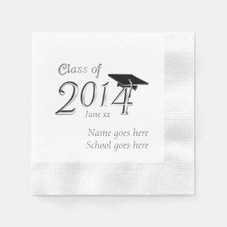 Kundengerechte Klasse von Abschluss 2014 Papierserviette