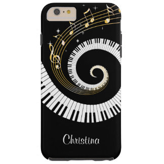 Kundengerechte Klavier-Schlüssel und Tough iPhone 6 Plus Hülle