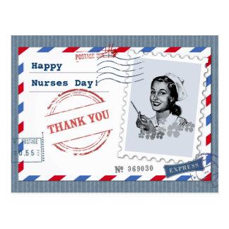 Kundengerechte Krankenschwester-Tagespostkarten Postkarte