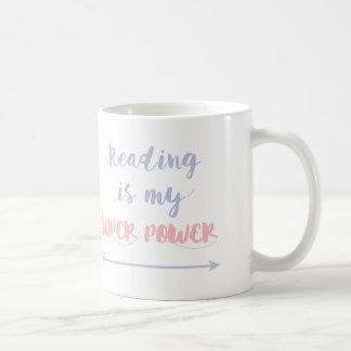 Kundengerechte Lesung ist mein SuperPower Kaffeetasse