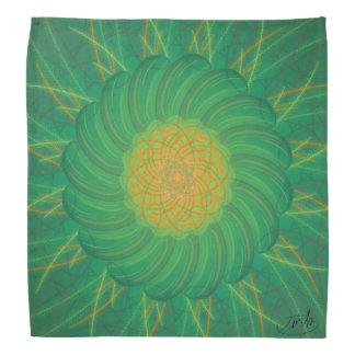 Kundengerechte Natur (psychedelischer Spirograph) Kopftuch