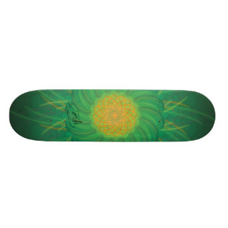 Kundengerechte Natur (psychedelischer Spirograph) Skateboard Bretter