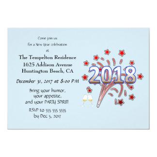 Kundengerechte Party Einladung des neuen Jahres