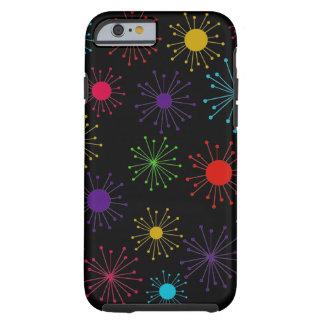Kundengerechte Retro Sternexplosion Tough iPhone 6 Hülle