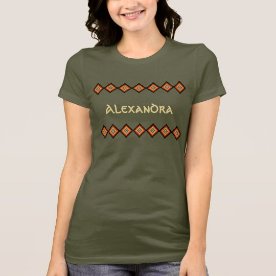 Kundengerechte rumänische Volksmotive T-Shirt