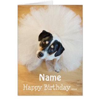 Kundengerechte Spaß-Geburtstags-Karte - Karte