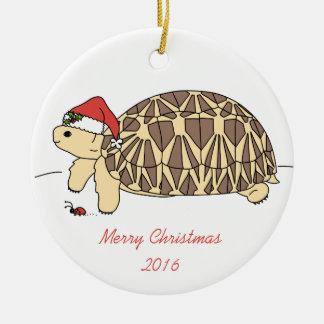 Kundengerechte Stern-Schildkröten-Verzierung Rundes Keramik Ornament