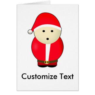 Kundengerechte Weihnachtskarte Karte