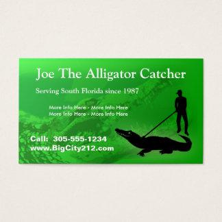 KUNDENGERECHTER Alligatorfänger BC Visitenkarte