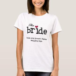 Kundengerechter Braut-T - Shirt
