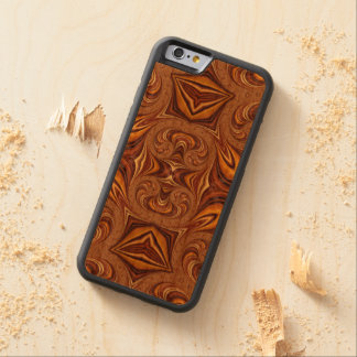 Kundengerechter Kasten des Holz-Iphone6 Bumper iPhone 6 Hülle Kirsche