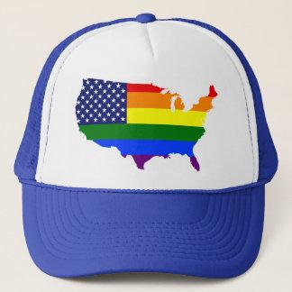 Kundengerechter LGBT Truckerkappe