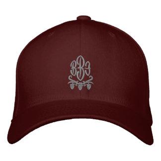 Kundengerechter Monogramm-Wein gestickter Hut