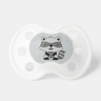 Kundengerechter Raccoon-Schnuller Schnuller