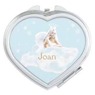 Kundengerechter Traumengels-Herz-Vertrags-Spiegel Taschenspiegel