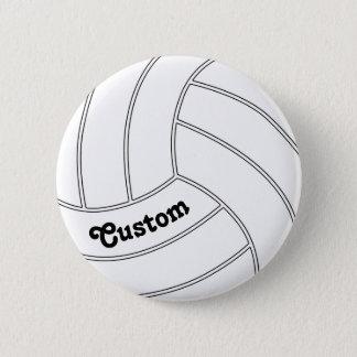KUNDENGERECHTER Volleyball-rundes Knopf-Button Runder Button 5,7 Cm