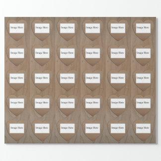 """Kundengerechtes 30 Foto, Verpackungs-Papier 30"""" x Geschenkpapier"""