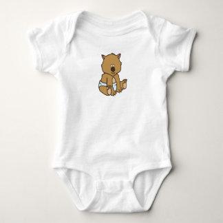 Kundengerechtes Baby Wombat Baby Strampler