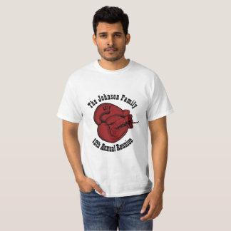 Kundengerechtes Familien-Wiedersehen-grundlegender T-Shirt