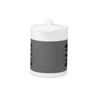 Kundengerechtes graues schwarzes Mittelgotisches