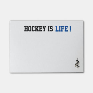 Kundengerechtes Hockey ist Leben-Posten, den es Post-it Klebezettel