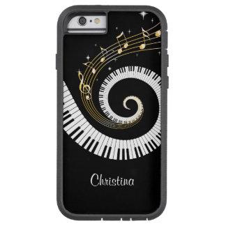 Kundengerechtes Klavier-Schlüssel und Tough Xtreme iPhone 6 Hülle