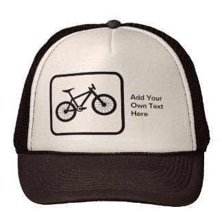 Kundengerechtes Mountainbiker-Logo Kultcaps