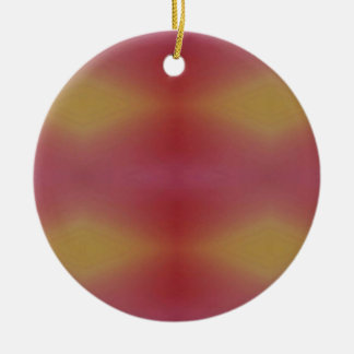 Kundengerechtes Rosen-Gelb-weicher subtiler Keramik Ornament