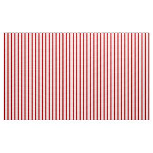 Kundengerechtes rotes und weißes gestreiftes stoff