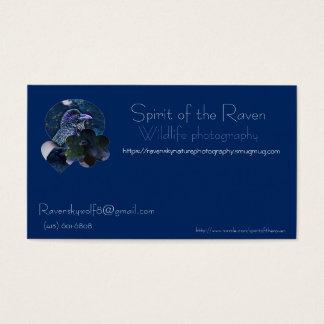 Kundengerechtes Tierphotographie-Visitenkarte SP Visitenkarte